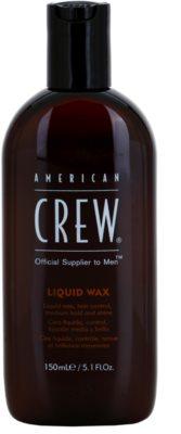 American Crew Classic cera líquida para o cabelo com brilho