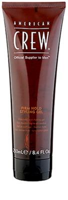 American Crew Classic gel na vlasy pro objem a lesk