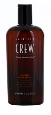 American Crew Classic tusfürdő gél mindennapi használatra