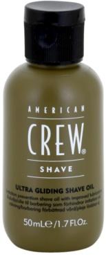 American Crew Shave olej na holení proti podráždení a svědění pokožky