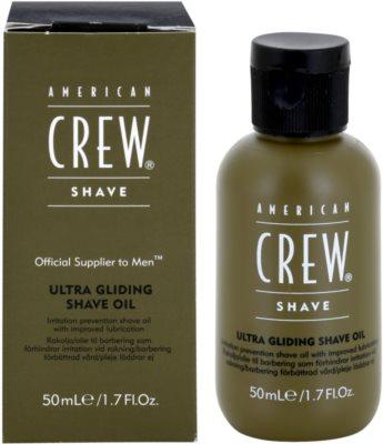 American Crew Shave olej na holení proti podráždení a svědění pokožky 1