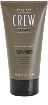 American Crew Shave hidratáló borotválkozó krém normál vagy erős bajuszra