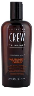 American Crew Trichology megújító sampon a sűrű hajért