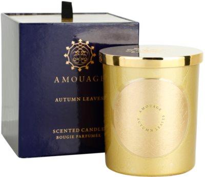 Amouage Autumn Leaves ароматизована свічка