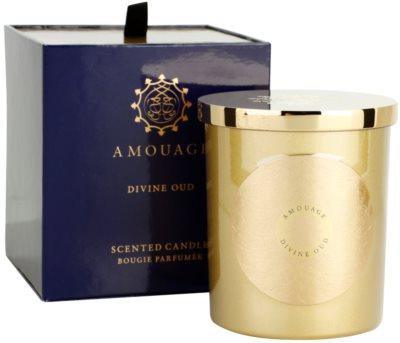 Amouage Divine Oud świeczka zapachowa