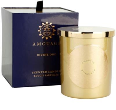 Amouage Divine Oud vela perfumado