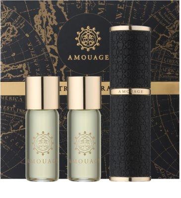 Amouage Epic Eau De Parfum pentru barbati  (1x reincarcabil + 2x rezerva)