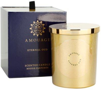 Amouage Eternal Oud vela perfumado
