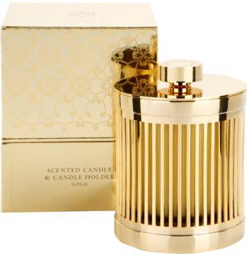 Amouage Gold vela perfumada   + soporte 1