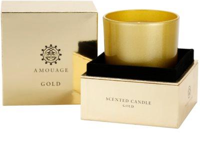 Amouage Gold vela perfumado 2