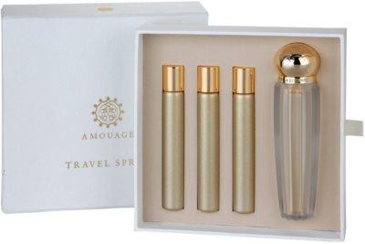 Amouage Gold Eau De Parfum pentru femei  (1x reincarcabil + 3x rezerva)