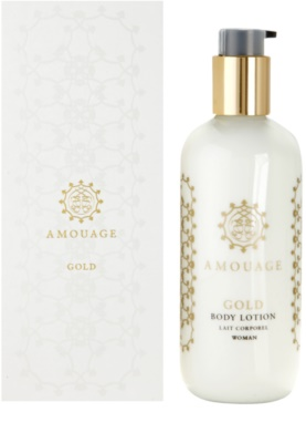 Amouage Gold leite corporal para mulheres
