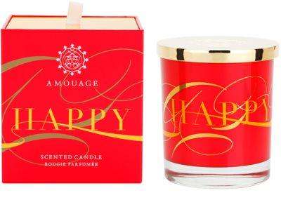 Amouage Happy ароматизована свічка