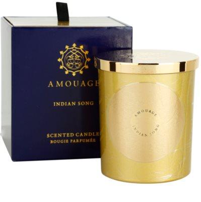 Amouage Indian Song vela perfumado