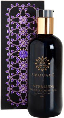 Amouage Interlude gel de duche para homens 1