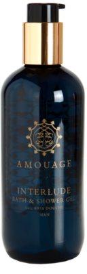 Amouage Interlude gel de duche para homens 4