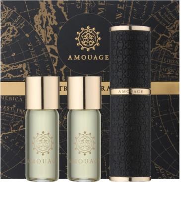 Amouage Jubilation 25 Men Eau de Parfum para homens  (1x vap.recarregável + 2 x recarga)