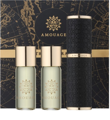Amouage Jubilation 25 Men parfémovaná voda pro muže  (1x plnitelná + 2x náplň)