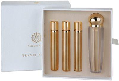 Amouage Jubilation 25 Woman parfémovaná voda pro ženy  (1x plnitelná + 3x náplň)