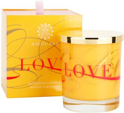 Amouage Love dišeča sveča 1
