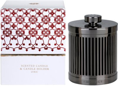 Amouage Lyric vela perfumada   + soporte