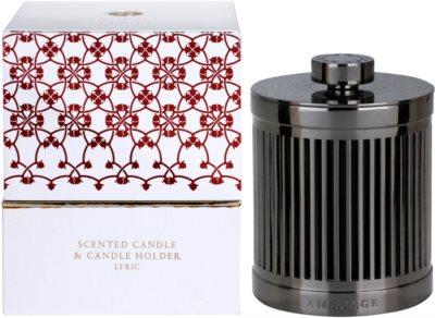 Amouage Lyric vela perfumado  + suporte