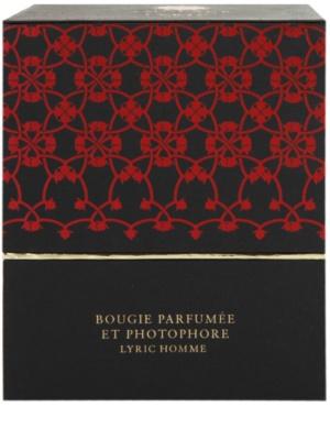 Amouage Lyric vela perfumada   + soporte 5