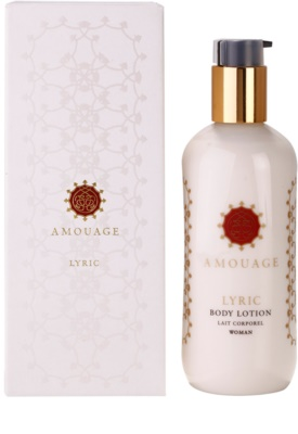 Amouage Lyric testápoló tej nőknek