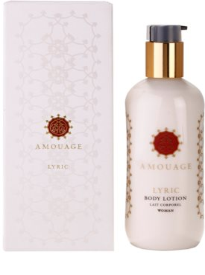 Amouage Lyric тоалетно мляко за тяло за жени