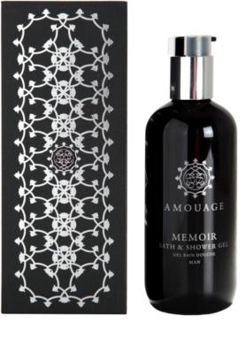 Amouage Memoir gel de duche para homens
