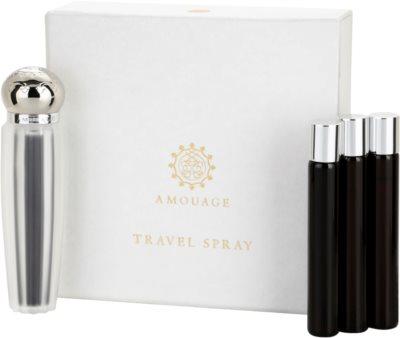 Amouage Memoir eau de parfum para mujer  (1x recargable + 3x recarga)