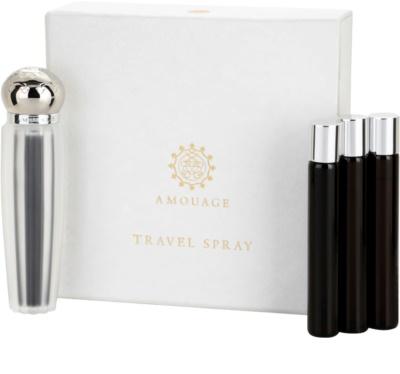 Amouage Memoir Eau de Parfum para mulheres  (1x vap.recarregável + 3 x recarga)
