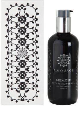 Amouage Memoir gel de duche para mulheres