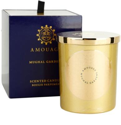 Amouage Mughal Gardens vela perfumado