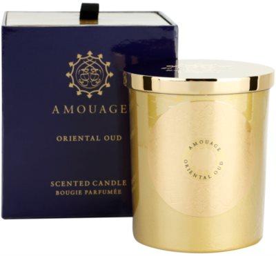 Amouage Oriental Oud illatos gyertya