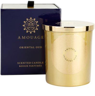 Amouage Oriental Oud świeczka zapachowa