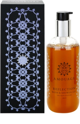 Amouage Reflection gel de duche para homens