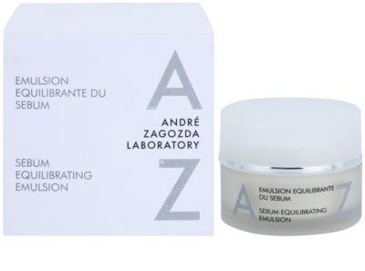 André Zagozda Face faggyú kiegyensúlyozó emulzió élénk és hidratált bőr 2