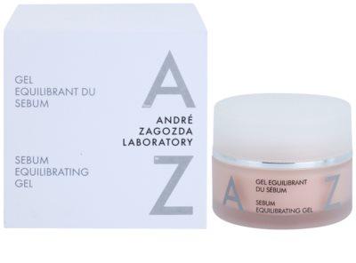 André Zagozda Face pleťový gel regulující tvorbu kožního mazu s omlazujícím účinkem 2