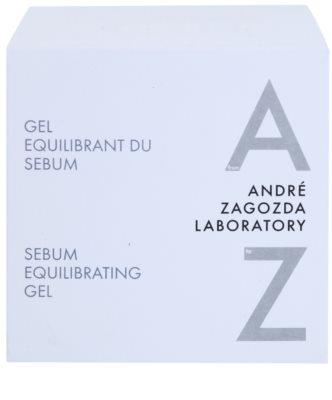 André Zagozda Face pleťový gel regulující tvorbu kožního mazu s omlazujícím účinkem 3