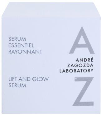 André Zagozda Face serum przeciwzmarszczkowe i liftujące 3