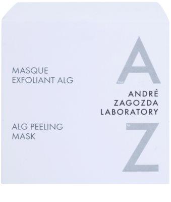 André Zagozda Face peeling maszk tengeri moszattal 3