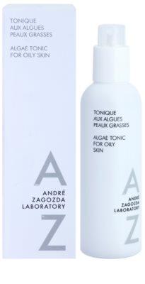 André Zagozda Face тонік для жирної шкіри з морськими водоростями 1