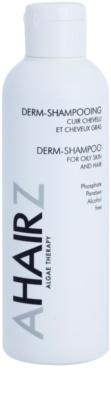 André Zagozda Hair Algae Therapy dermatologisches Shampoo für fettiges Haar und Kopfhaut