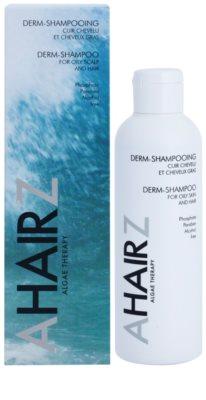 André Zagozda Hair Algae Therapy dermatologisches Shampoo für fettiges Haar und Kopfhaut 1