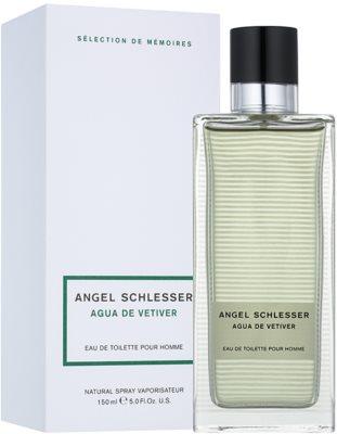 Angel Schlesser Agua de Vetiver Eau de Toilette für Herren 1