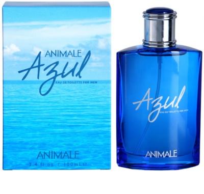 Animale Azul Eau de Toilette para homens
