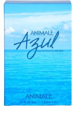 Animale Azul Eau de Toilette para homens 4