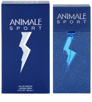Animale Sport eau de toilette férfiaknak