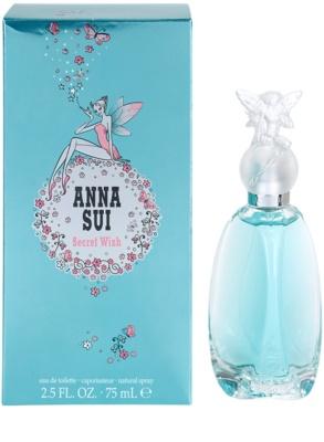 Anna Sui Secret Wish Eau de Toilette para mulheres